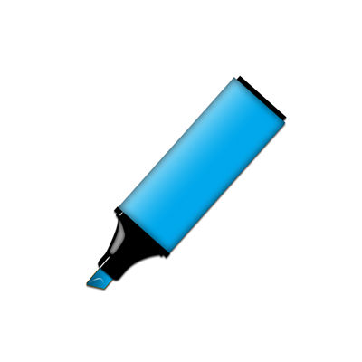 Picture Of Blue Permanent Marker