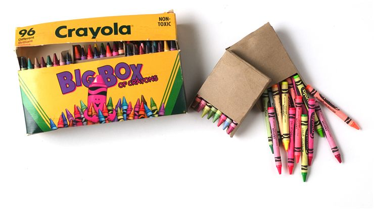 Picture Of Box Of Crayons