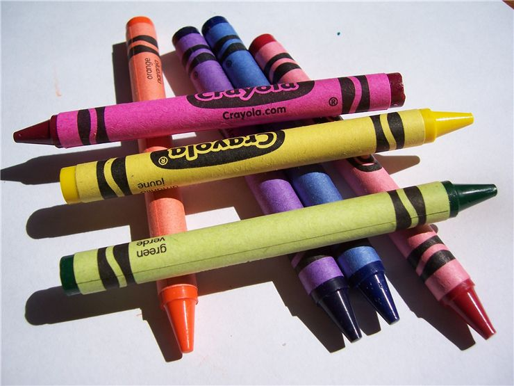 Picture Of Color Crayons