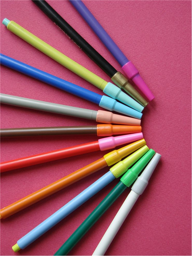 Picture Of Color Marker Pens