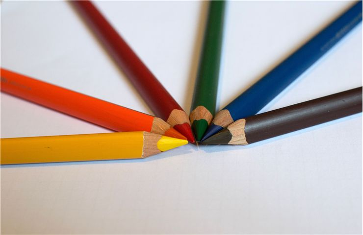 Picture Of Color Pencils For Drawing