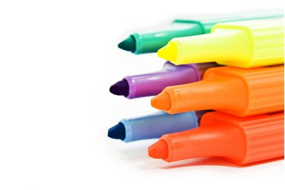Picture Of Different Color Marker Pens