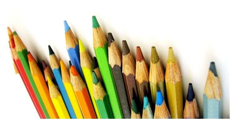 Picture Of Different Wooden Color Pencils