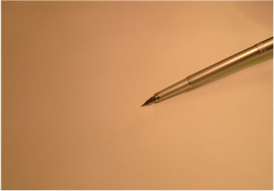 Picture Of Golden Pen