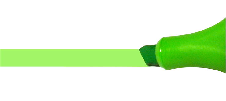 Picture Of Green Highlighter