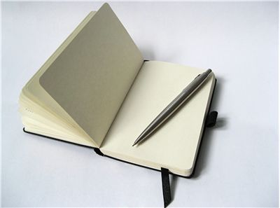 Picture Of Notebook With Pencil