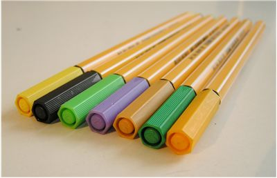 Picture Of Old Pen Markers
