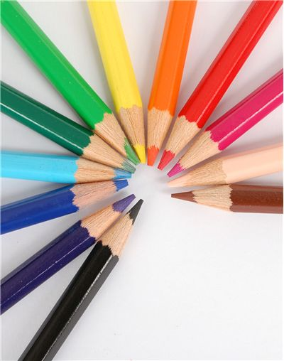 Picture Of Pencils In Different Colors
