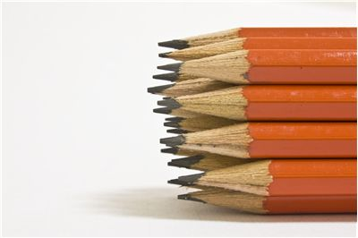 Picture Of Pencils In Order