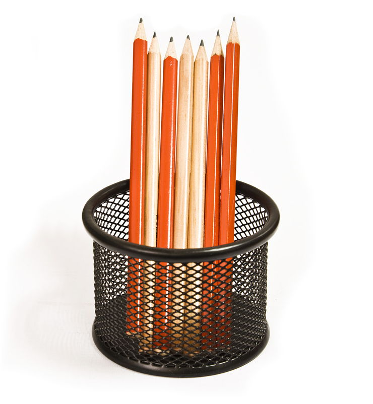 Picture Of Pencils In Pencil Holder