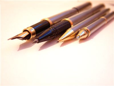 Picture Of Pens And Fountain Pen