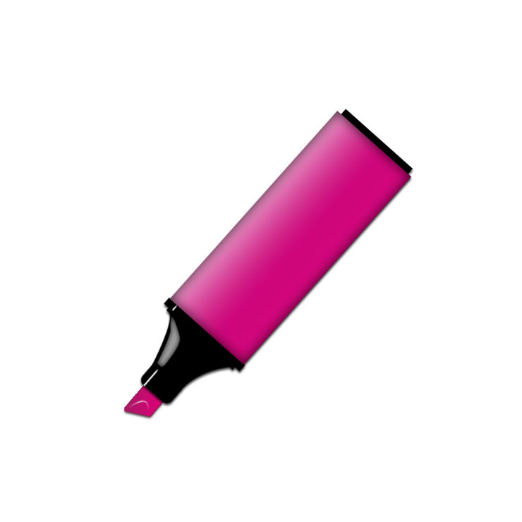 Picture Of Pink Permanent Marker