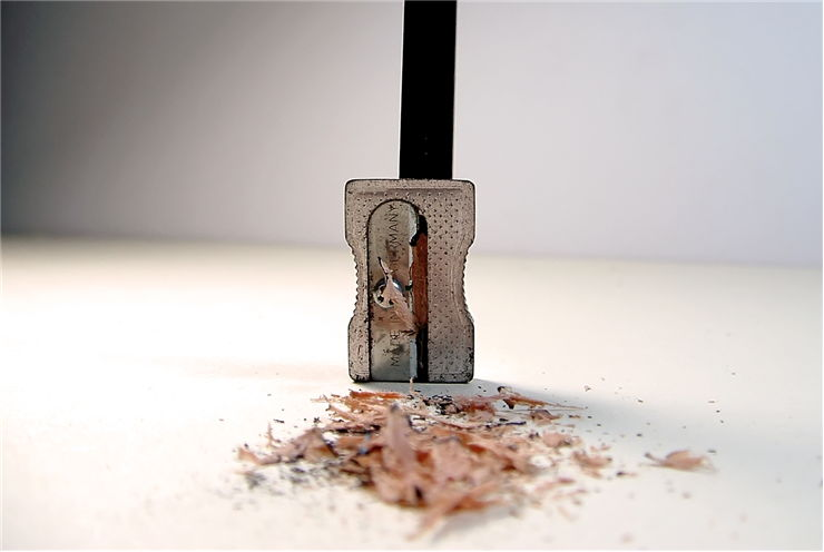 Picture Of Sharpener And Pencil