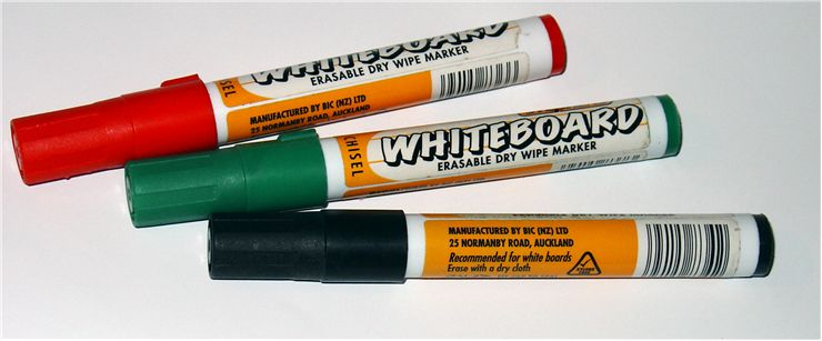 Picture Of White Board Markers