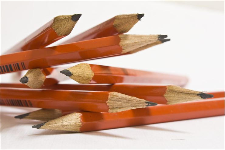 Picture Of Wooden Ofiice Pencils