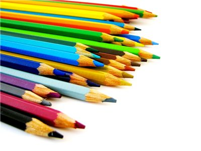 Picture Of Wooden Pencils In Different Colors