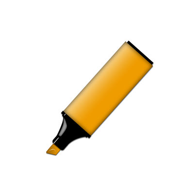 Picture Of Yellow Permanent Marker